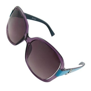 Blue Arm UV Protection Full-Rim Lady Outdoor Sunglasses
