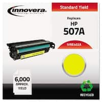 Innovera Remanufactured CE402A (507A) Toner, Yellow Remanufactured CE402A (507A) Toner, Yellow