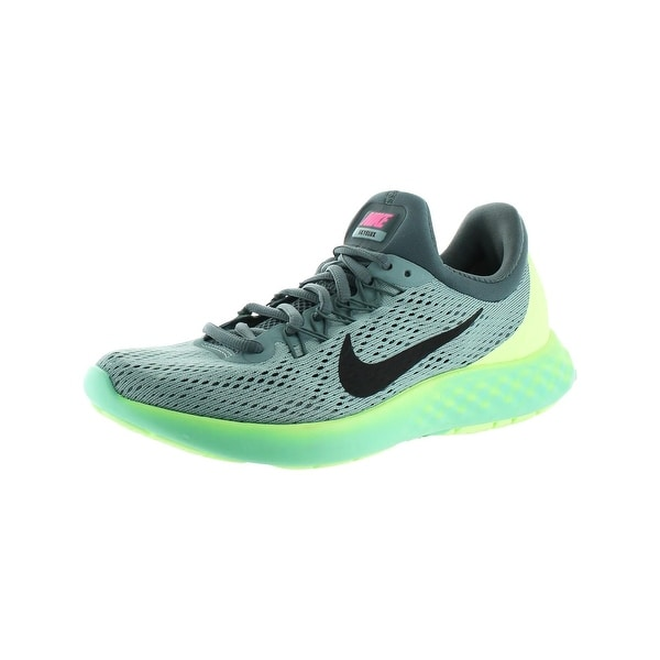 Nike Womens Lunar Skyelux Running Shoes Round Toe Lace-Up