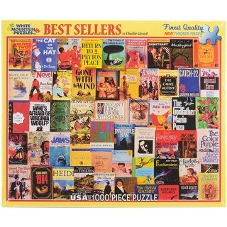"""Jigsaw Puzzle 1000 Pieces 24""""X30""""-Best Sellers"""