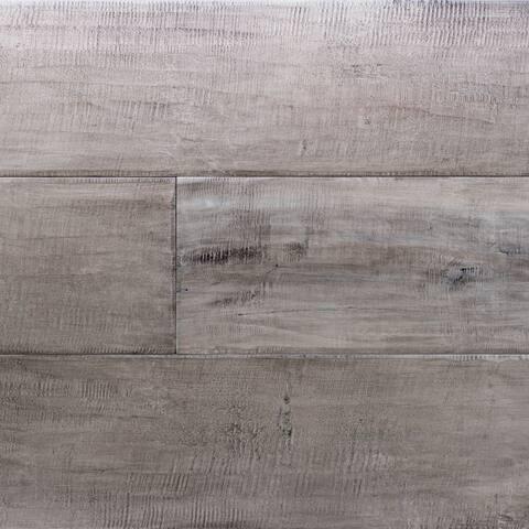 """Miseno MFLR-SILVERMINE-E Limerick Engineered Hardwood Flooring - 7-1/2"""" Planks (26 SF / Carton) - - Maple Silvermine"""