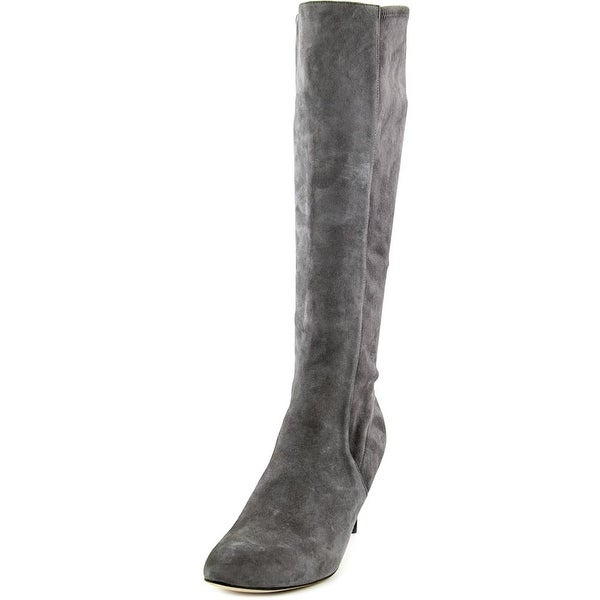 Cole Haan Barnard Boot Pointed Toe Suede Knee High Boot