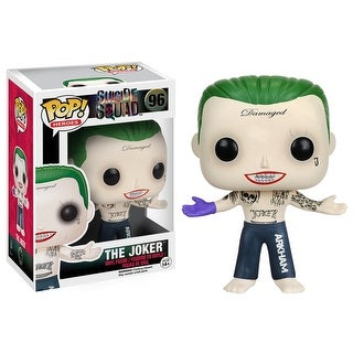 Suicide Squad Funko Pop Movies Vinyl Figure Joker (Shirtless) - multi