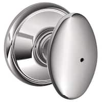 Schlage F40-SIE Siena Privacy Door Knob Set from the F-Series