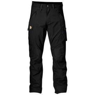 Fjallraven Men's Abisko Trouser - G-1000 Trekking, Hiking pants - Black - 56 (38-39)