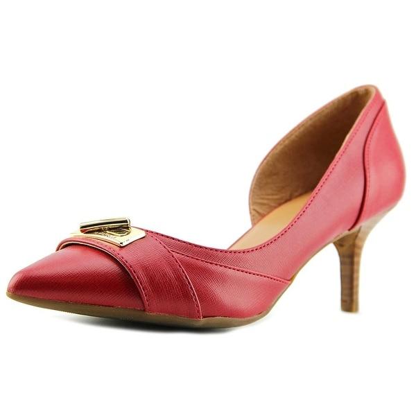 Tommy Hilfiger Joetta3 Women Pointed Toe Synthetic Red Heels