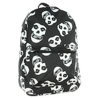Misfits Backpack Skull Punk Rock Album Logo - One Size Fits most