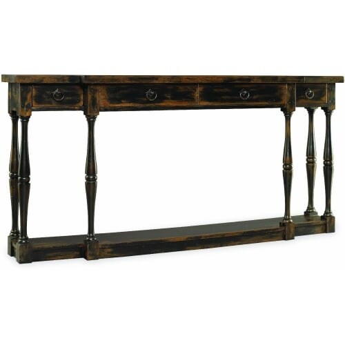 Hooker Furniture 3005 85001 72 Inch Long Hardwood Console Table From The  Sanctua