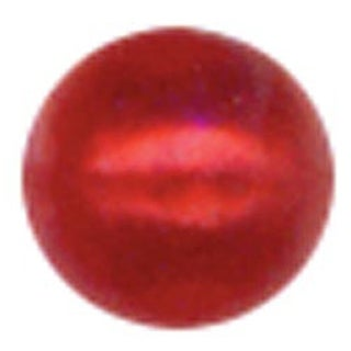 Red - Crystal Stickers Pearls 3Mm Round 125/Pkg