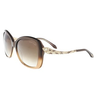 Roberto Cavalli RC917S-A/S 50F MIZAR Brown Oval Sunglasses - 57-17-135