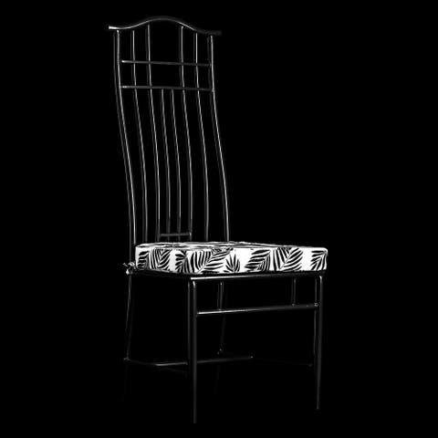 StyleCraft Macau Yoke Back Metal Side Chair