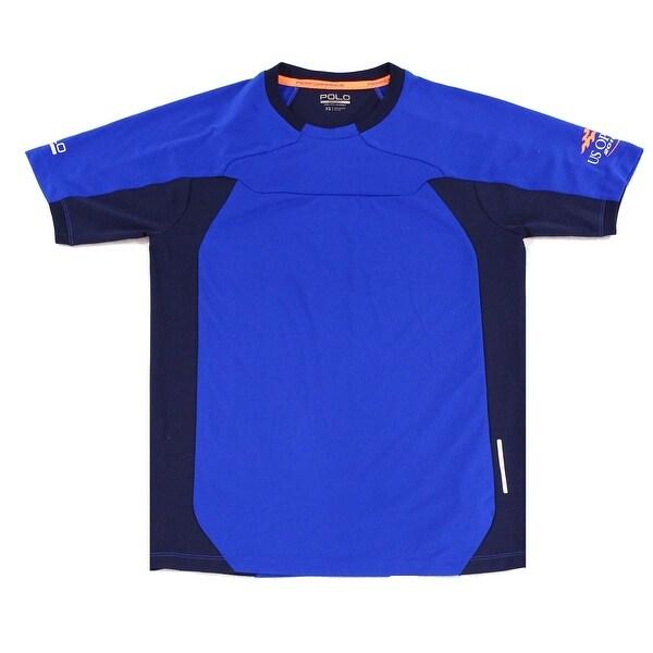 9386291d Shop POLO SPORT RALPH LAUREN NEW Blue Mens Size XS Performance T ...