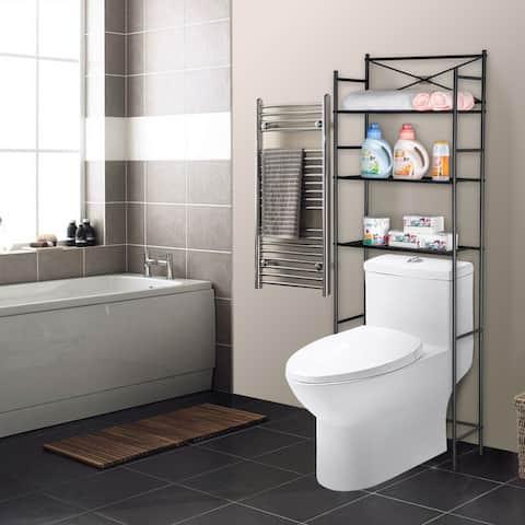 3 Tier Metal Over The Toilet Shelf Bathroom Storage Shelves