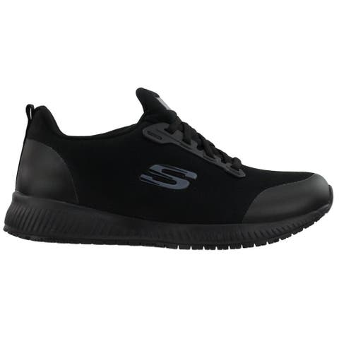 Skechers Squad Slip Resistant Work Womens Work Safety Shoes Casual