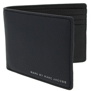 Marc by Marc Jacobs Mens Martin Bifold Wallet Pebbled Leather - o/s