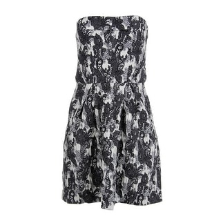 Thakoon Womens Floral Jacquard Cocktail Dress - 6