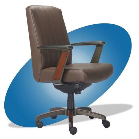 La-Z-Boy Modern Bennett Contemporary Leather Executive Office Chair