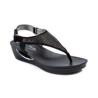 Andrew Geller Carlita Women's Sandals & Flip Flops Black