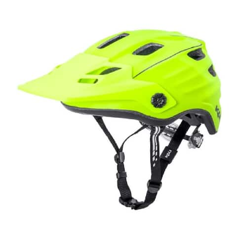 Kali Protectives Bike Helmet Maya 2.0 Revolt (Fluo Yellow/Black, S/M)