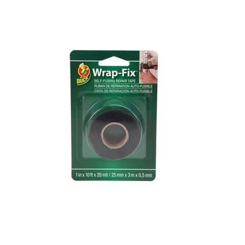 "Duck 442055 Wrap-Fix Self Fusing Silicone Rubber Tape, 1"" x 10'"