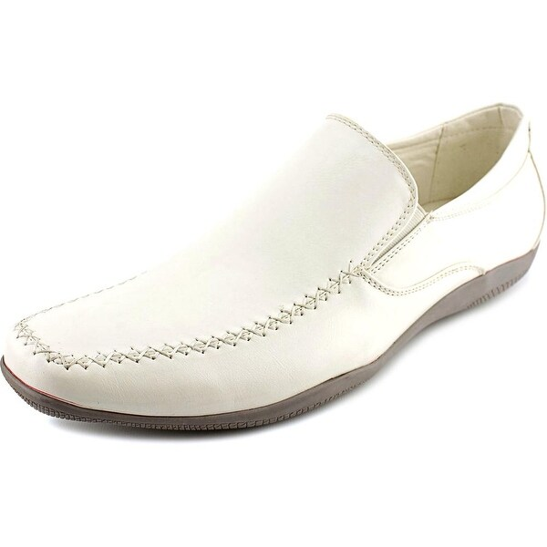 J75 by Jump Prestige Men Square Toe Synthetic White Loafer
