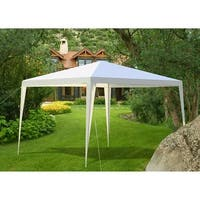Gymax Outdoor Heavy Duty 10'x10' Canopy Party Wedding Tent Gazebo Pavilion Cater Event