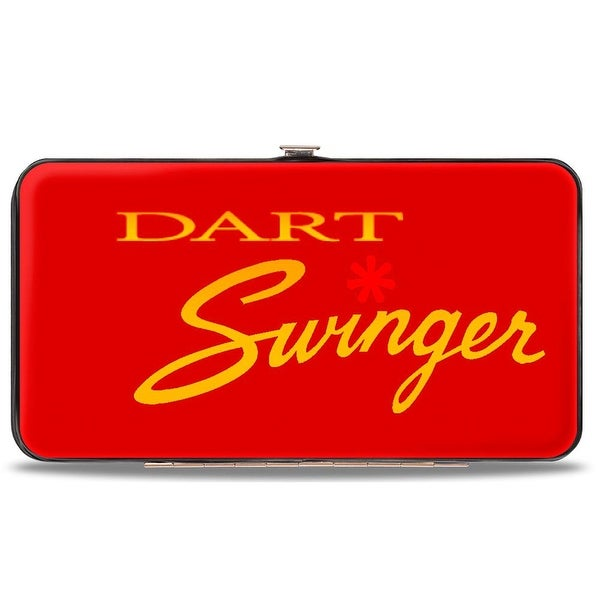 Dodge Dart Swinger Script Reds Yellow Fade Hinged Wallet - One Size Fits most