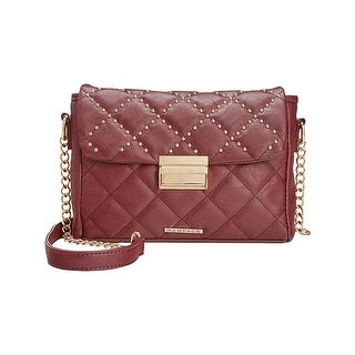 Rampage Womens Crossbody Handbag Faux Leather Quilted - small