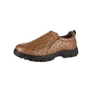 Roper Western Shoes Mens Sport Faux Ostrich Lug 09-020-1571-0407 TA