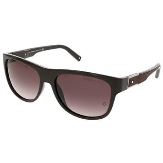 Montblanc MB 459/S 40T Brown Wayfarer Sunglasses - 57-16-140
