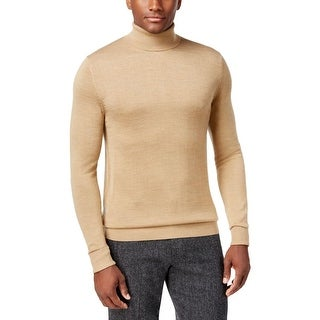 Vince Camuto Mens Pullover Sweater Ribbed Turtleneck
