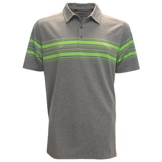 Skechers GoGolf Club Face Chest Striped Polo Shirt
