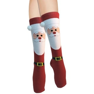 Women's Adult Christmas Socks Santa
