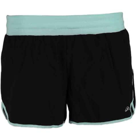 Asics Womens Distance Short Running Athletic Shorts Shorts