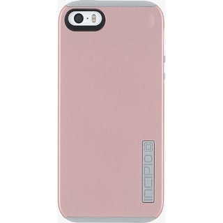 Incipio DualPro Case for Apple iPhone 5/5S/SE - Rose Gold/Gray