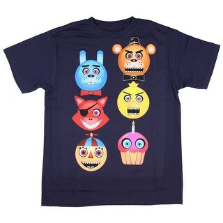 Five Nights at Freddy's Boys' Freddy Fazbear Glow in the Dark T-Shirt