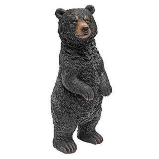Design Toscano Walking and Standing Black Bear Statues: Standing
