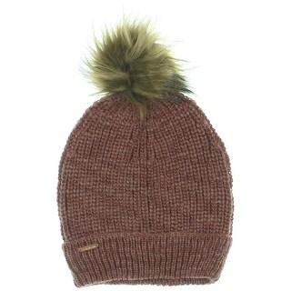 Free People Womens Wool Blend Pom Pom Winter Hat - o/s