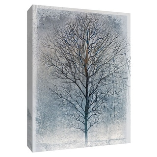 """PTM Images 9-148471  PTM Canvas Collection 10"""" x 8"""" - """"Silver Tree II"""" Giclee Trees Art Print on Canvas"""