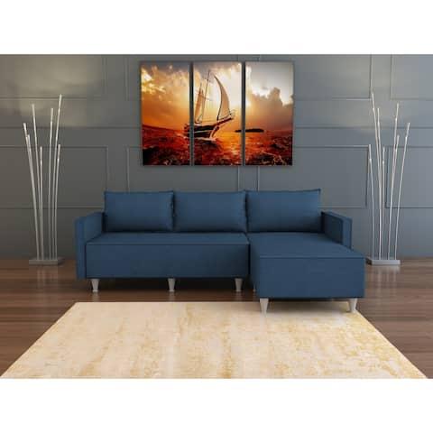 SavaHome Irelia Sectional Sofa