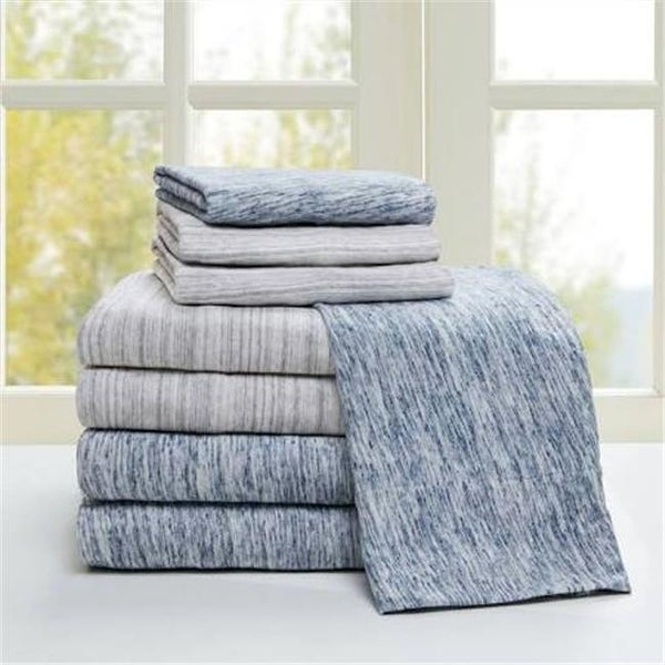 Shop Urban Habitat King Size Cotton Jersey Knit Sheet Set Grey