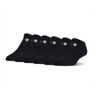 Under Armour Socks UA Men's Charged Cotton 2.0 No Show 6-Pack Socks