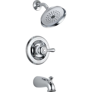 Delta 14478-SHL Leland Single Handle Tub & Shower Faucet, Chrome
