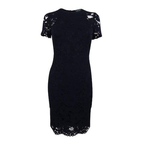 Lauren Ralph Lauren Women's Lace Sheath Dress