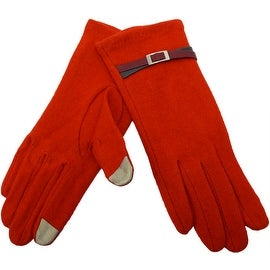 Women's 100% Wool Fingertips for Touchscreen Text Gloves