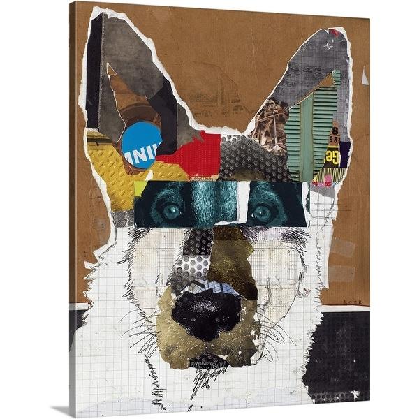"""German Shepherd I"" Canvas Wall Art"