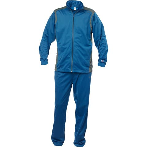 Cliff Keen All American Wrestling Warm-up Suit - Royal Blue/Gray - 3XL