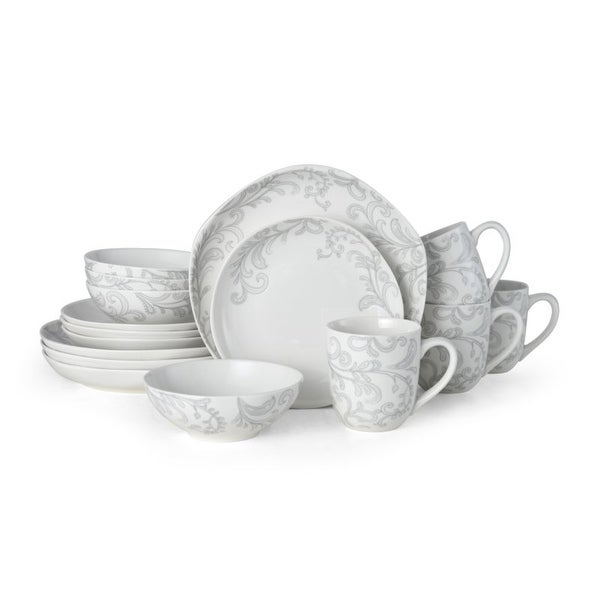Fitz and Floyd Maddi Floral 16 piece Dinnerware Set (Service for 4). Opens flyout.