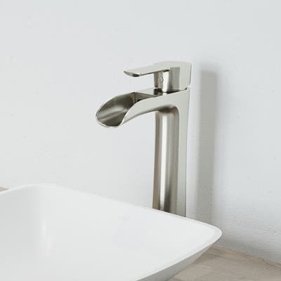 VIGO Niko Vessel Bathroom Faucet