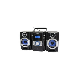 Naxa NPB429 Naxa NPB-429 Mini Hi-Fi System - 16 W RMS - iPod Supported - Black - CD Player - FM - 2 Speaker(s) - CD-DA, MP3 -